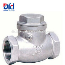 Sanitary Direction Poly Ball Manufacturer Ductile Iron Stainless Check Valve Swing Type