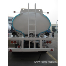 China for Hydrochloric Acid Tank Trailer Road Tank Semi-trailer  for transporting Sulfuric Acid export to Albania Suppliers