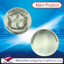 Moeda de estanho antiga moeda em branco brilhante com preço barato (lzy1300042)