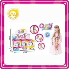 2016newest bricolaje plástico educativo juguete perla chica conjunto