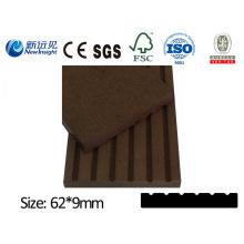 PE WPC Plank Garten Plank Dekorative Board für Dustbin Zaun Bank Decking mit SGS CE Fsc ISO Holz Kunststoff Composite Plank Lhma063