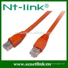 2Meter cat5e rj45 cabo de remendo Cor vermelha