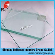 Verre transparent de flotteur de 3mm avec le prix concurrentiel