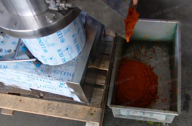 carrot paste