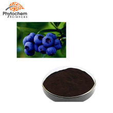 25% anthocyanidins natural european bilberry extract