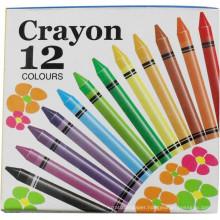 12 pcs crayon ,mix colorful kids painting crayons