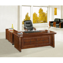 1.6 meter 1.4 meters office table with side table