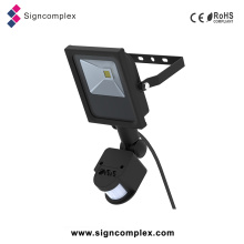 Outdoor LED Floodlight with PIR, Waterproof 10W 20W 30W 50W 80W 100W LED Sensor Light