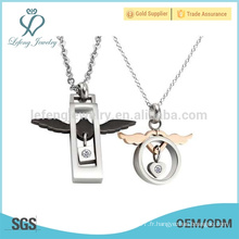 2016 les plus récentes ailes d'ange design pendentif charmant pour les amoureux