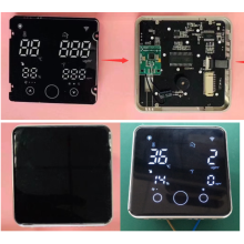 integrated LED display for home appliances