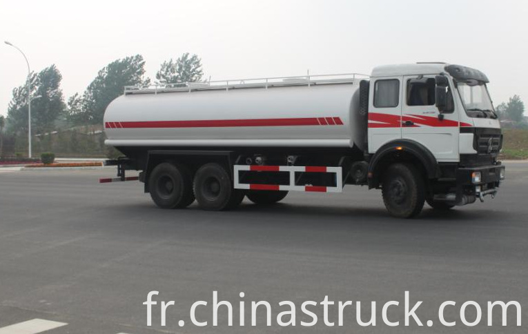 BEIBEN heavy duty water bowser truck