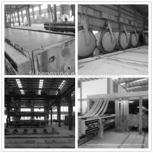 Высокопрочная изоляция Бетоносмесительная машина AAC Block Manufacturers