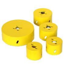 HONGLI sierra para agujeros de tubería de acero inoxidable / sierra para orificios metálicos (14 mm-210 mm)
