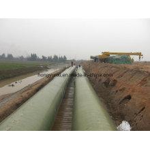 Tubería FRP / GRP de conducción de agua a larga distancia