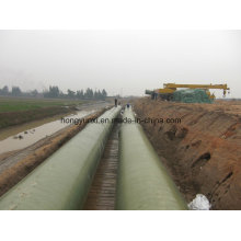 Long Distance Water Conveying FRP / GRP Pipe