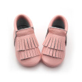 Kvalitet Unisex Mix Colors Double Layers Baby Moccasins
