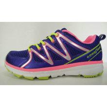 Модные леди кроссовки с фиолетовым цветом
