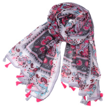 Manufacture foreign trade wholesale printing voile yiwu scarf for women