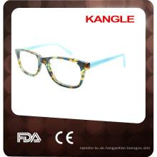 2017 schöne Schildkröte Lady Acetat optische Gläser & Brillen Brillen, Acetat Gläser