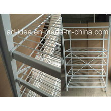 Practical Wire Metal Display Rack/Display for Food, Cosmetic etc
