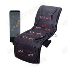 Electric Vibrator Thermal Back Pain Massage Mat Body Thai Shiatsu Bed Mattress
