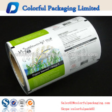 eco-friendly and healthy aluminum foil roll film packing for everybody