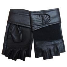 Men′s Fashion Fingerless Sheepskin Leather Sports Gloves (YKY5019)