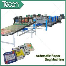 Высокоскоростной многофункциональный бумажный мешок машина для продажи