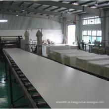 Folha rígida do PVC do material de construção de 3mm