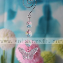 Lowest Price for Beaded Trimmings 13.5CM Acrylic Plastic Crystal Chandelier Butterfly Pendant export to Latvia Factories