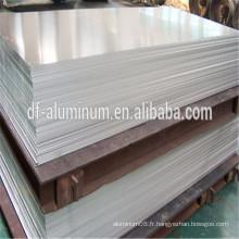 Tôle d'aluminium certifiée ISO pour gros