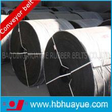 Correa transportadora de cable de acero resistente al calor para la planta de cemento
