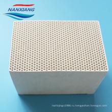 Кордиерит аккумулирования тепла сота керамический 150x150x300mm