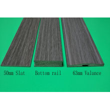 Decoration 2inch Polystyrene PS Venetian Blind Components