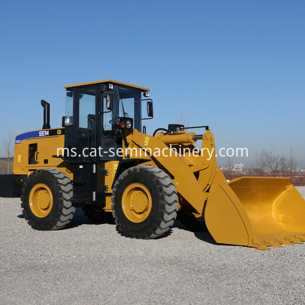 Machine Sem 632d Wheel Loader Machinery