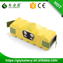 GLE 14.4v 3500mah Ni-MH OEM Customied Battery Pack For IRobot Roomba 500
