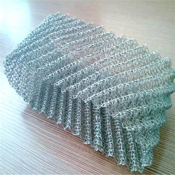 oil filter knitted mesh
