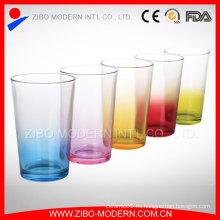 Vidrio de vino claro que bebe Copa de vidrio y copa de cristal de beber de las bebidas