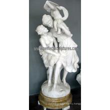 Сад резной камень с мраморной скульптуры (SY-X1725)