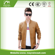 New Fashion Cheap Men PU Leather Jacket