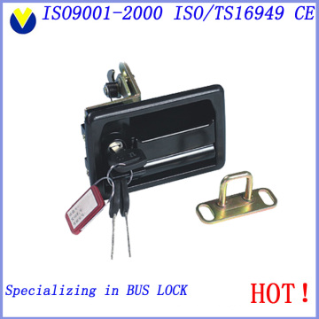 Security Protects Storehouse Bus Door Lock