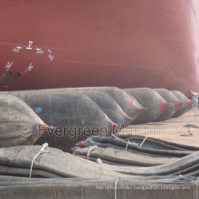 High Strength and Good Airtightness Marine Airbag for Ship Landing and Launching