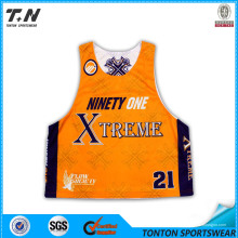 Dye Sublimated Equipo Lacrosse Reversible Jerseys