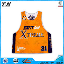 Dye Sublimated Team Lacrosse Reversible Jerseys