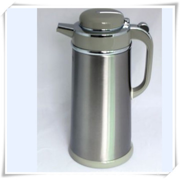 Double Walled Stainless Steel Vacuum Flask Coffee Maker Milk Pot