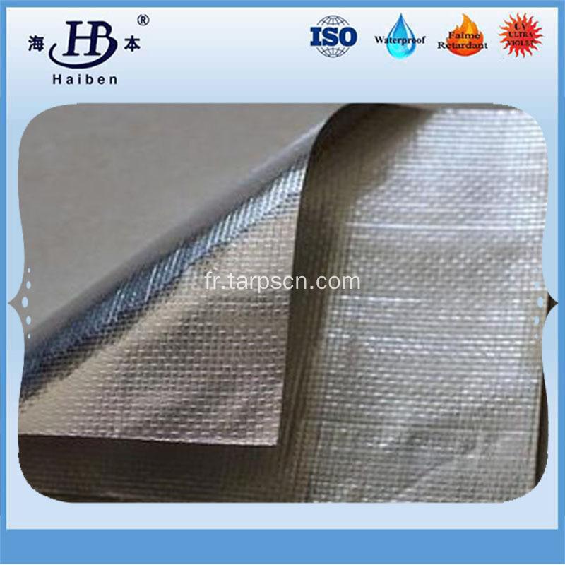 Isolation thermique chine aluminis tissu de fibre de verre fabricants - Tissu isolant thermique ...