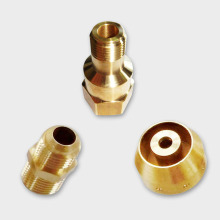 Custom High Precision 4 Axis CNC Machine Parts