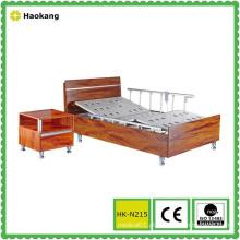 Cama de madeira hospitalar para equipamento médico elétrico ajustável (HK-N215)