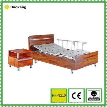 Больничная деревянная кровать для электрорегулируемого медицинского оборудования (HK-N215)