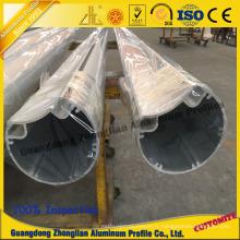 Profil en aluminium de meubles pour le tuyau en aluminium de tube en aluminium